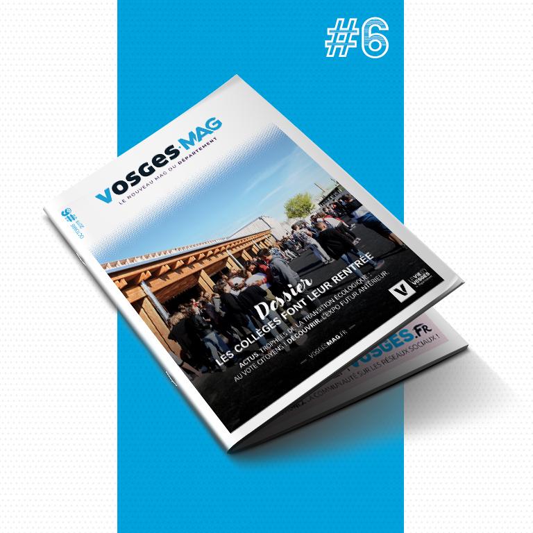 Vosges Mag #6 - Octobre 2019